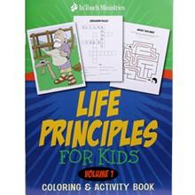Life Principles Coloring & Activity Book (Volume 1) LPACBKP