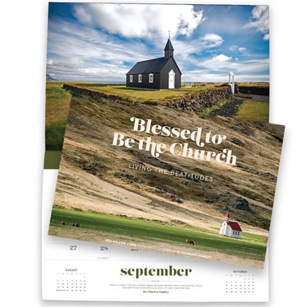 2020 Wall Calendar—Blessed To Be The Church: Living The Beatitudes CL-CSWC20