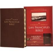 NASB LP Bible (Large Print; Thumb Indexed) - Burgundy Bonded Leather LLPNASBRI