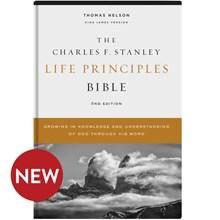 KJV Charles F. Stanley Life Principles Bibles, 2nd Edition - Hardcover BB-KJH
