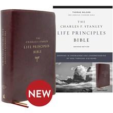 NASB Bible 2nd Edition (Comfort Print) - Burgundy Leathersoft BBNASL6024