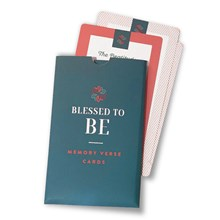 Blessed To Be: Memory Verse Cards Free MCBTBFR