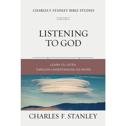 Charles F. Stanley Bibles Study Series: Listening to God SG-CSBSLG