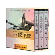 Living Triumphantly: A Study of First Peter (Complete Set) FPSETCD