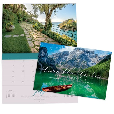 2019 Wall Calendar—Crowned With Goodness: A Journey Through Italy CAL19