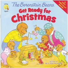 The Berenstain Bears Get Ready for Christmas:  A Lift-the-Flap Book BKBBFB0829