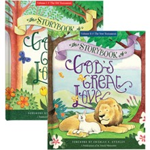 The Storybook of God's Great Love, Volumes I & II CHSETBKH