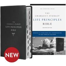 NIV Bible 2nd Edition (Comfort Print; Indexed) - Black Leathersoft BBNIVL5584