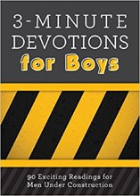 3-Minute Devotions for Boys DEVO3BOYS