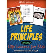 Life Principles Coloring & Activity Book (Volume 2) LPACBKP2