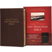 NASB LP Bible (Large Print) Burgundy Bonded Leather LLPNASBR