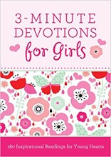 3-Minute Devotions for Boys DEVO3GIRLS